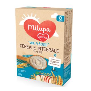 Milupa Cereale Integrale cu Mere Vise Placute 8 luni+ 250 g