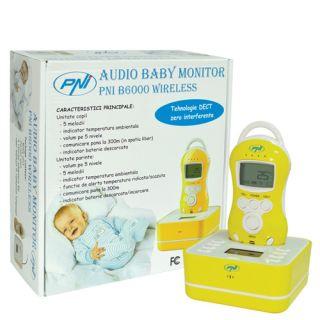 PNI Audio Baby Monitor B6000 wireless