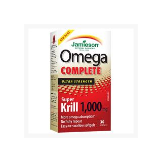 Omega Complete Super Krill 1000 mg Jamieson