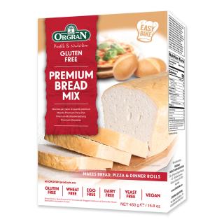 Orgran – amestec premium pentru paine x 450g