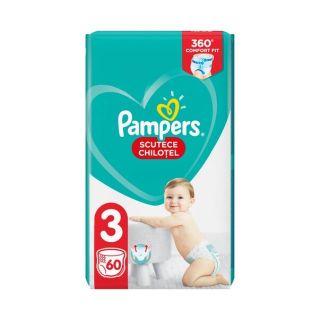Scutece chilotel Pampers Pants Marimea 3, 6-11 kg, 60 de bucati