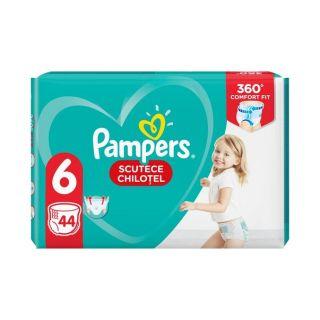 Scutece chilotel Pampers Pants Marimea 6, 15+ kg, 44 de bucati