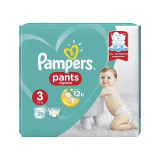 Pampers Scutece chilotel Mar. 3 (6-11 kg)