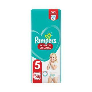 Scutece chilotel Pampers Pants Marimea 5, 12-17 kg, 48 de bucati