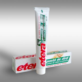 Pasta de dinti Etera de la Etera Cosmetice