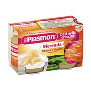 Plasmon Gustare Iaurt cu Banana, fara gluten, 240g, 6 luni+