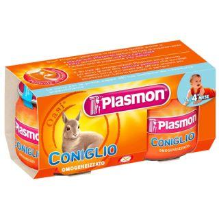 Plasmon - Piure din Carne Iepure, fara gluten, 160g (de la 4 luni)