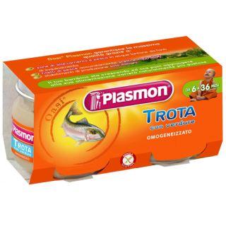 Plasmon - Piure din Pastrav cu Legume, fara gluten, 160g (de la 6 luni)