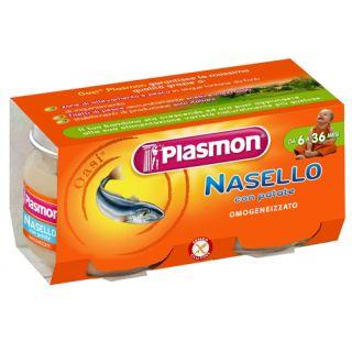 Plasmon - Piure Merluciu cu cartofior, fara gluten, 160g (de la 6 luni)