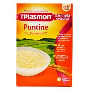 Plasmon – Paste Puntine, sub forma de punctulete, 340 g (de la 6 luni)