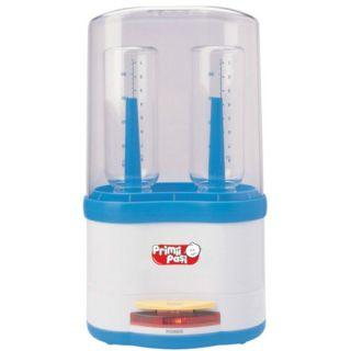 Sterilizator cu aburi pentru doua biberoane Primii Pasi