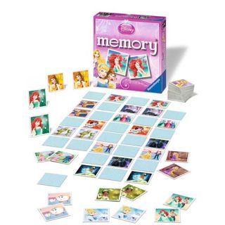 Jocul Memoriei Printesele Disney Ravensburger