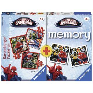Puzzle + Joc Memory Spiderman Ravensburger