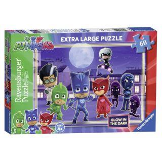 Puzzle Eroi in pijamale 60 piese Ravensburger