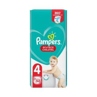 Scutece chilotel Pampers Pants Marimea 4, 9-15 kg, 52 de bucati