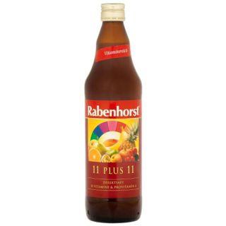 Suc 11 Fructe + 11 Vitamine Galben 750 ml Rabenhorst