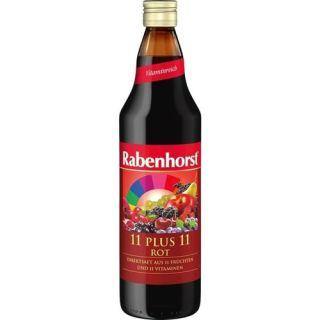 Suc 11 Fructe + 11 Vitamine Rosu 750 ml Rabenhorst