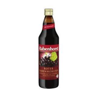 Suc BIO Struguri Rosii cu Gluconat Feros 750 ml Rabenhorst