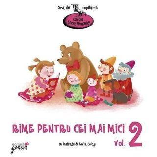 Rime pentru cei mai mici – Volumul 2 - Lucia Muntean