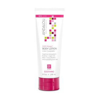 Secom Andalou Naturals 1000 Roses Soothing Body Lotion 236ml