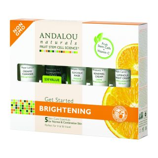 Secom Andalou Naturals Brightening Get Started Kit