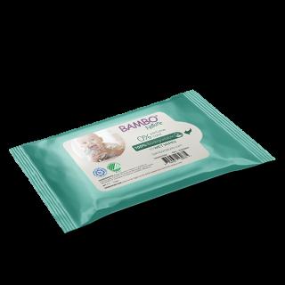 Servete umede biodegradabile Bambo Nature 10 buc