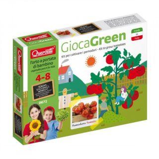 Set creativ pentru copii Cultivare Rosii Quercetti Q0672