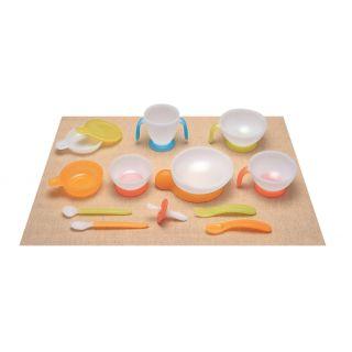 Set pentru servirea mesei bebelusilor Combi