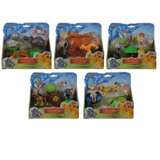 Setul de Agresori Lion Guard Simba Toys