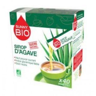 Sunny Bio Sirop agave 40 plicuri