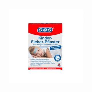 SOS Plasture pentru Febra la Copii 4 plasturi