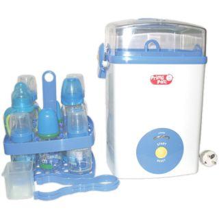 Sterilizator pentru 8 biberoane Primii Pasi