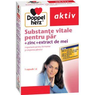 Substante vitale pentru par 30 capsule Doppelherz Aktiv