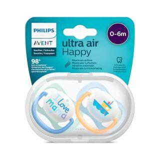 Suzeta ultra air 0-6 luni Philips Avent SCF 080/01