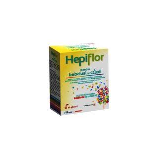 Hepiflor pentru bebelusi si copii 10 plicuri Terapia