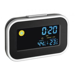 TFA Termo-higrometru cu ceas si alarma 602015