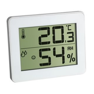 TFA Termometru si Higrometru digital de camera extra-plat 305027