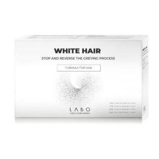 Tratament Man White Hair, 20 fiole, Labo