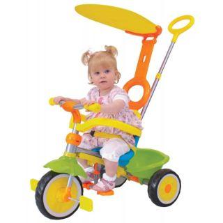 Tricicleta copii Deluxe Grow multicolora cu control parental solaris-MVSM04642-00