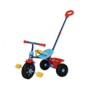 Tricicleta copii Saica Paw Patrol cu maner control pentru parinti solaris-SA7440
