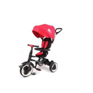 Tricicleta Rito Deluxe Rosie cu maner parasolar si centuri VOL861