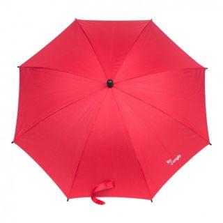 Umbrela pentru carucior copii Bo Jungle Rosie BJB300720