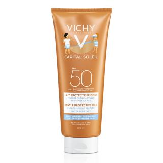 Vichy Capital Soleil Lapte pentru copii rezistent la apa SPF50+ 300 ml