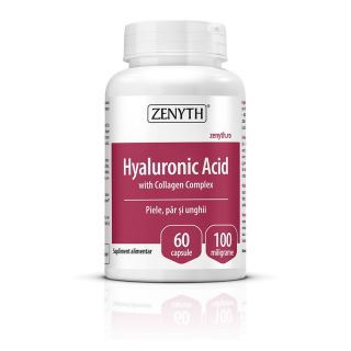 Hyaluronic Acid with Collagen Complex 60 capsule Zenyth